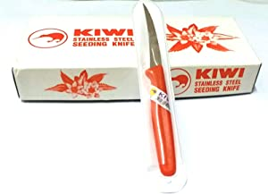 Kiwi Stainless Steel Deseeding Knife and Fruit Carving Knife