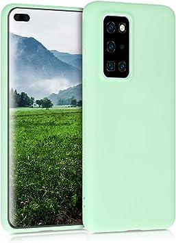 kwmobile Funda Compatible con Huawei P40 Cover Trasero en Transparente Carcasa de TPU para m/óvil