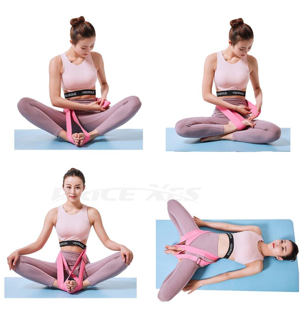 Amazon.com: Precio Xes correa de asiento de Yoga y cinturón ...