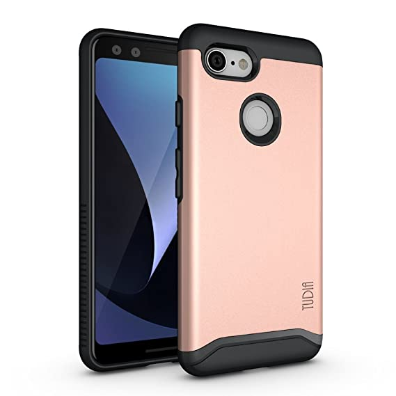 finest selection 44d0d 38ee3 Google Pixel 3 Case, TUDIA [Merge Series] Heavy Duty Extreme  Protection/Rugged with Dual Layer Slim Precise Cutouts Phone Case for  Google Pixel 3 ...