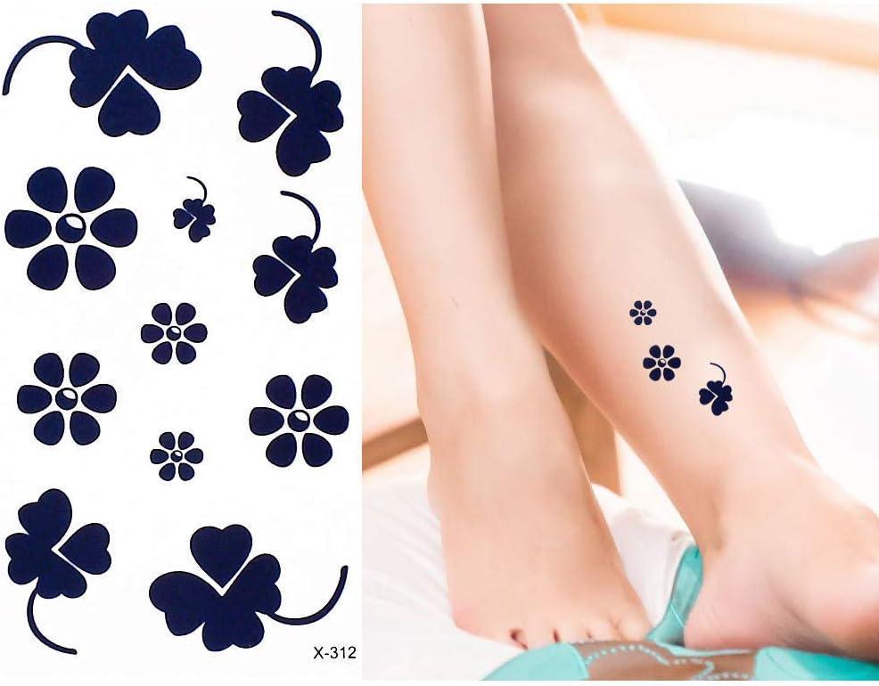 adgkitb 5 Piezas Tatuaje Pegatina corazón árbol Brazo Hombro Arte ...