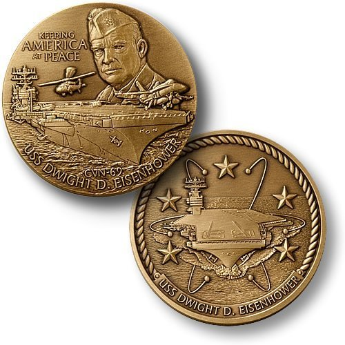 Northwest Territorial Mint USS Dwight D. Eisenhower Challenge Coin