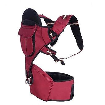 Mochila portabebes lleva doble hombro Correa transpirable Correa para el bebé Productos para bebés , red