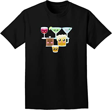 TooLoud Cutsie Cartel Adult Dark T-Shirt | Amazon.com