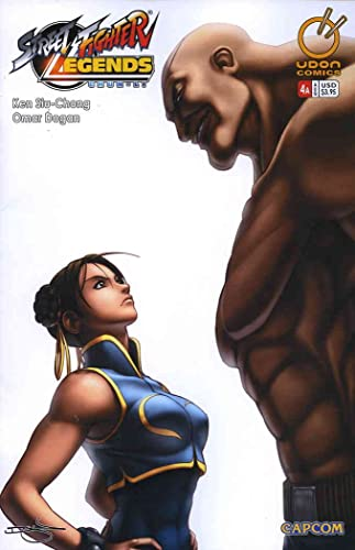Amazon Com Street Fighter Legends Chun Li 4a Vf Nm Udon