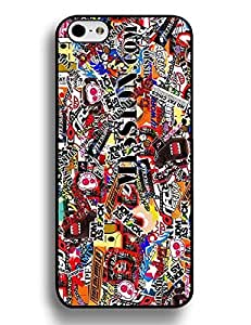 3832468M859567348 Iphone 6 Plus 5.5 Inch Case, Vogue Sticker Bomb Collection Protective Snap-On Case for Iphone 6 Plus (5.5 Inch), [Scratch Resistant] for Girls