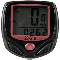 BabyGo 15 Function Bicycle Computer Odometer Speedometer Digital LCD Bike Meter Waterproof