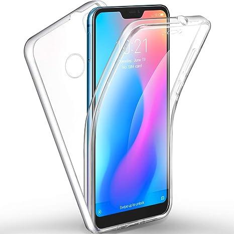 metà fuori 00f7f 15543 AROYI Cover Xiaomi Mi A2 Lite, Xiaomi Mi A2 Lite Custodia Transparent  Silicone TPU e PC Full Body Protettiva Premium Resistente Ai Graffi Case  Cover ...