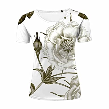 Men Women Unisex 3d T-Shirts Blooming flowers Casual Top Tee ZeShan All  Over Printting c2b711b3d1