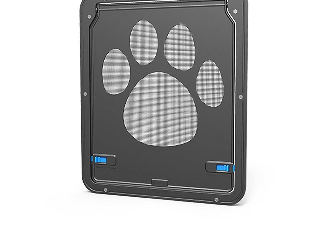 UHeng Magnetic Automatic Lock/Lockable Pet Screen Door cat Gate Way Pet Door for Screens by UHeng (Image #3)
