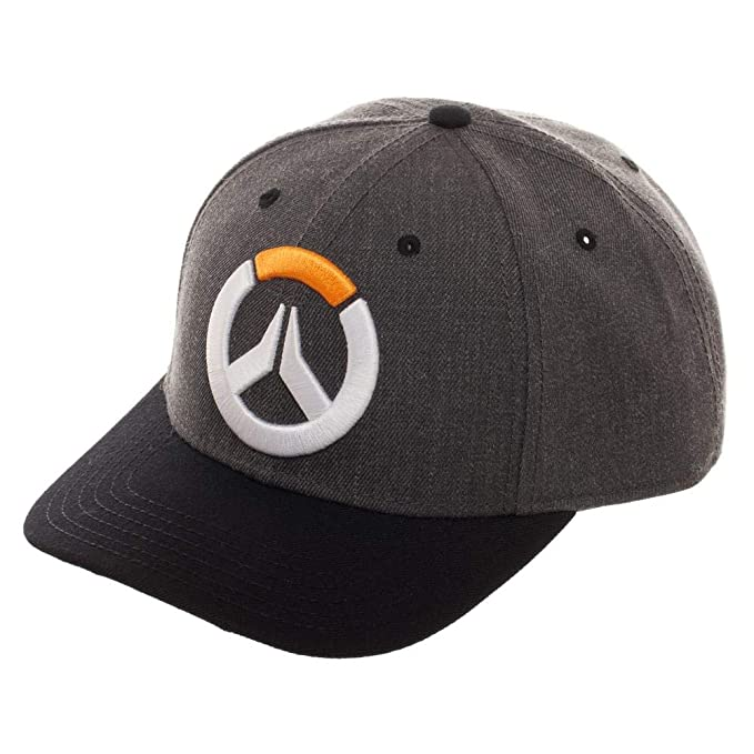 Amazon.com  Overwatch Pre-Curved Bill Snapback Hat  Clothing dcd234a78f2