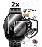 For GARMIN APPROACH S20 GOLF WATCH (SC) (2X) Smartwatch Screen Protector Invisible Ultra HD Clear Film Anti Scratch Skin Guard - Smooth/Self-Healing/Bubble -Free By IPG