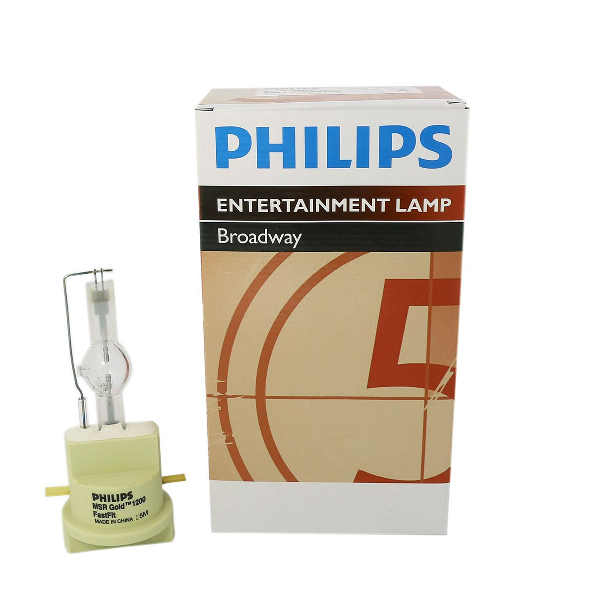 Philips MSR Gold 1200 FastFit 1200W AC Lamp for Touring/Stage Lighting