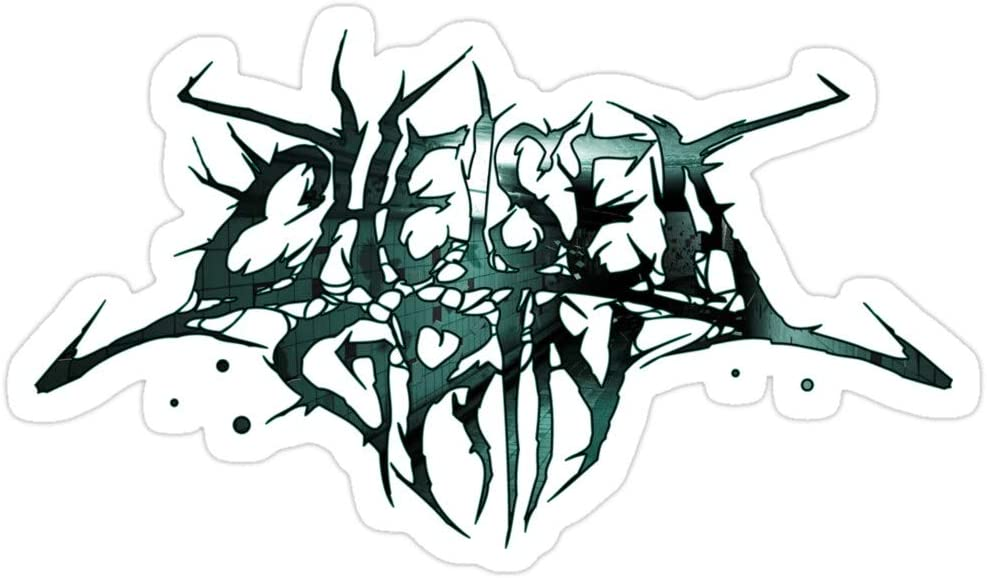 Big Lens store Chelsea Grin Apparel Stickers (3 Pcs/Pack)