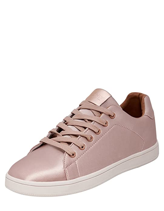 Pink Satin Sneakers onlSHILO by (38 - Pink) Only