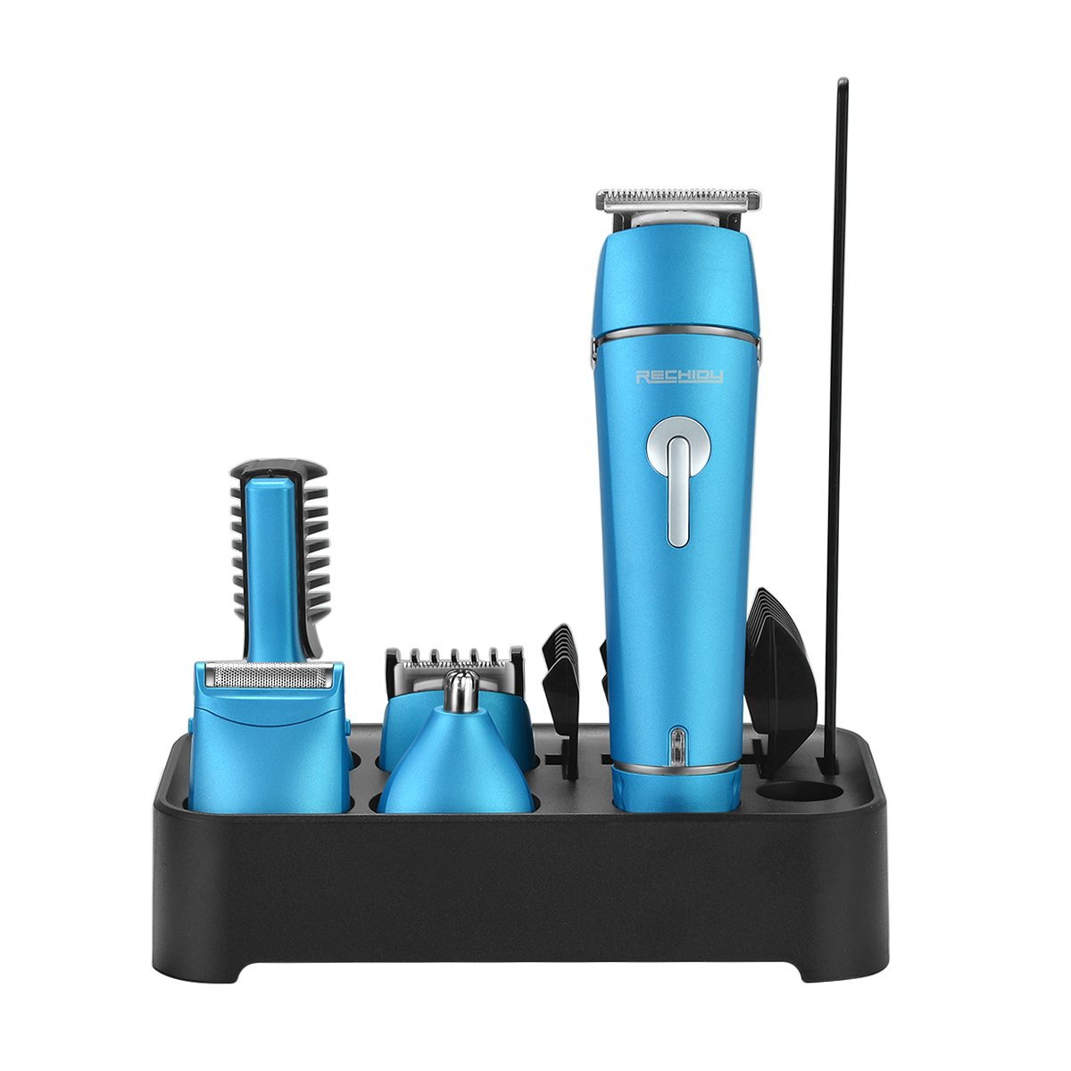 Hair Grooming Kit for Men Women Hair Clippers Beard Mustache Trimmer Nose Hair Eyebrow Trimmer Sideburn Precision Trimmer Professional 5 in 1 Rechargeable Electric Hair Removal Kit Cordless