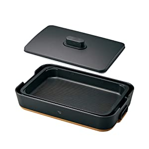 "ZOJIRUSHI Electric Griddle (Electric Hot Plate)""STAN."" (BLACK) EA-FA10BA【Japan Domestic Genuine Products】【Ships from Japan】"