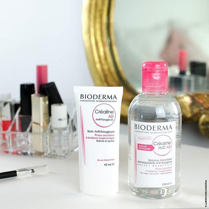 Bioderma Crealine H2O Solution Micelar Anti-Rougeurs 250 ml: Amazon.es: Belleza
