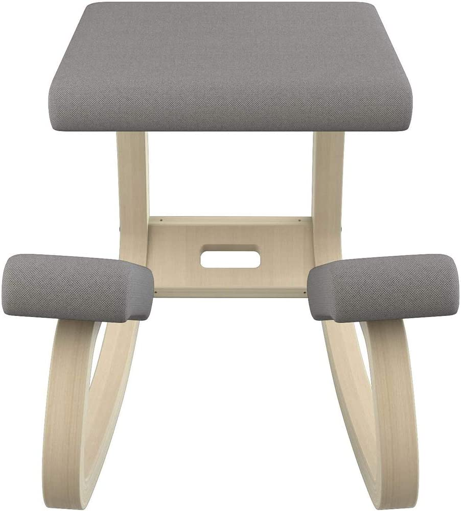 Jakroo Professional Kneeling Ergonomic Chair Adjustable Wooden Frame Kneeler Stool Orthopaedic Posture Chairs without Back in Several Colours
