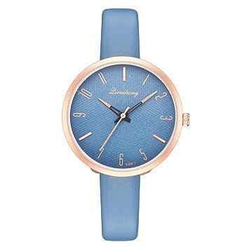Amazon.com: XBKPLO - Reloj de pulsera para mujer, de cuarzo ...