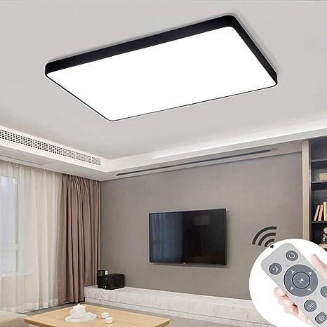 COOSNUG Lámpara de techo LED 72W Luz de techo cuadrada ...