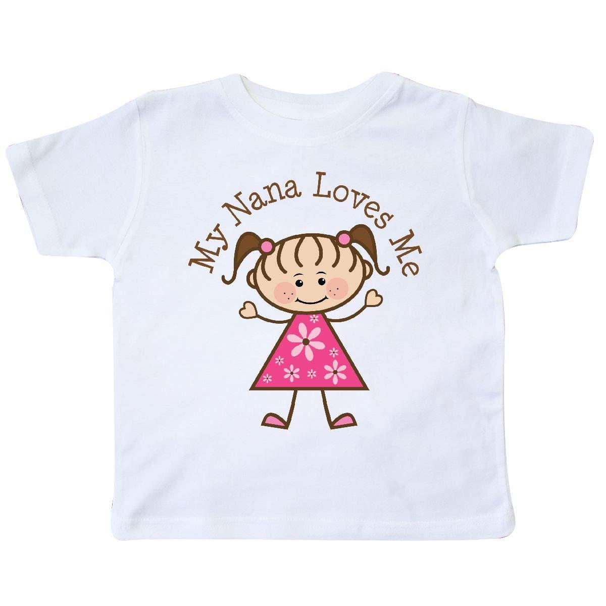inktastic My Nana Loves Me Toddler T-Shirt