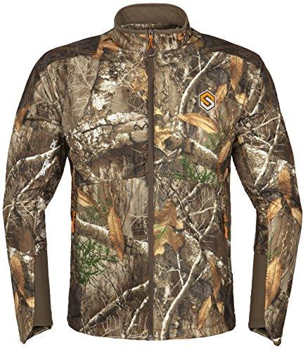 ScentLok Men's Full Season TAKTIX Hunting Jacket, Realtree Edge, L