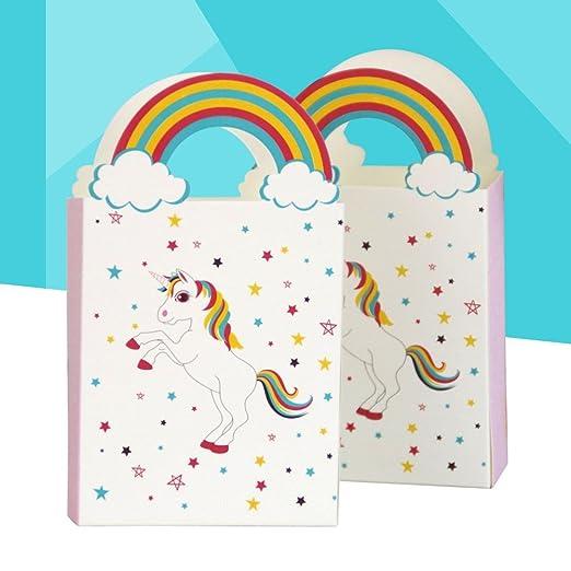Amazon.com: BESTOYARD 12 Unids Caja de Dulces de Papel de Arco Iris de Aniversario de Boda Delicadas Cajas de Dulces Regalo de Chocolate Cajas de Banquete ...