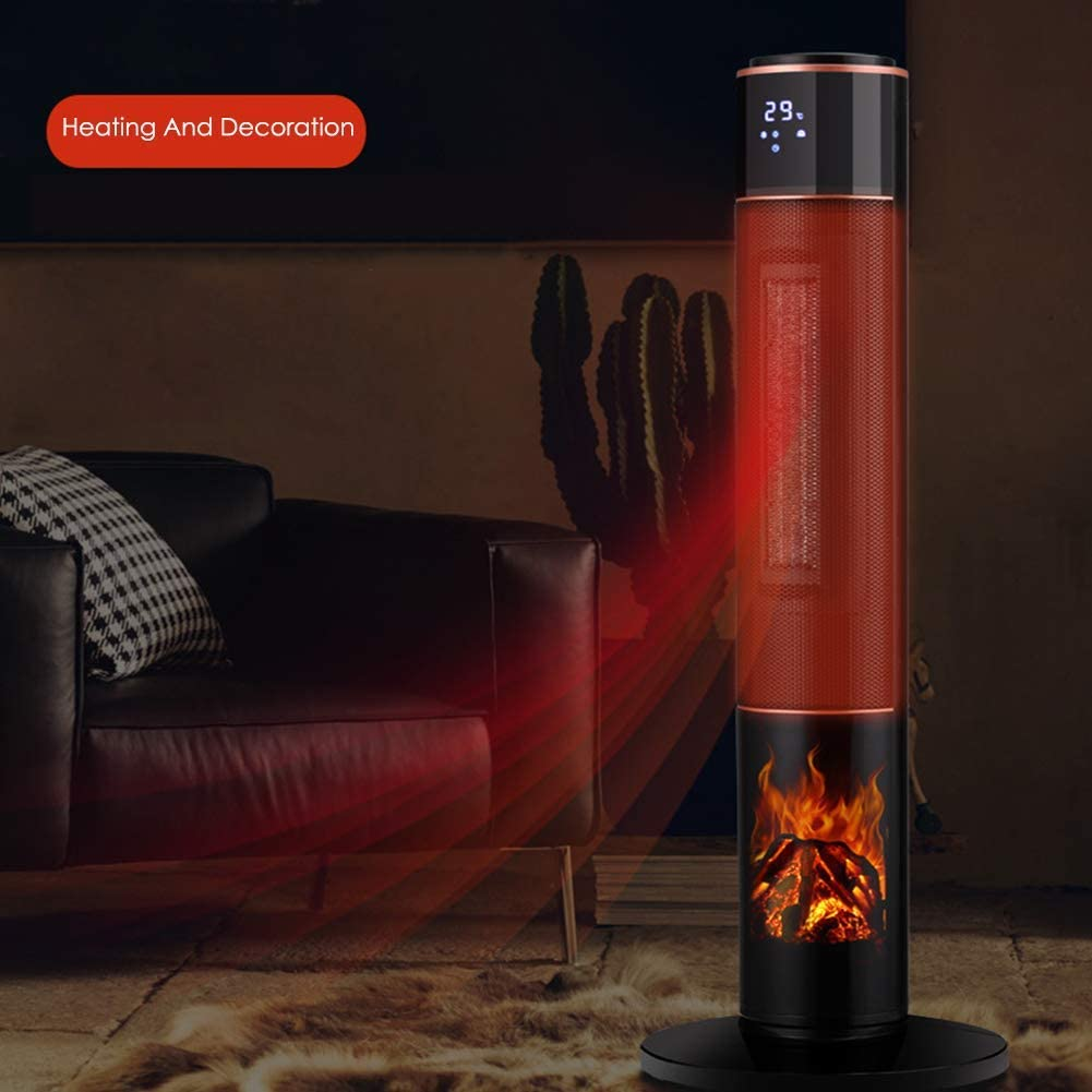 Dsnmm Fan Heater Tower Portable Ceramic