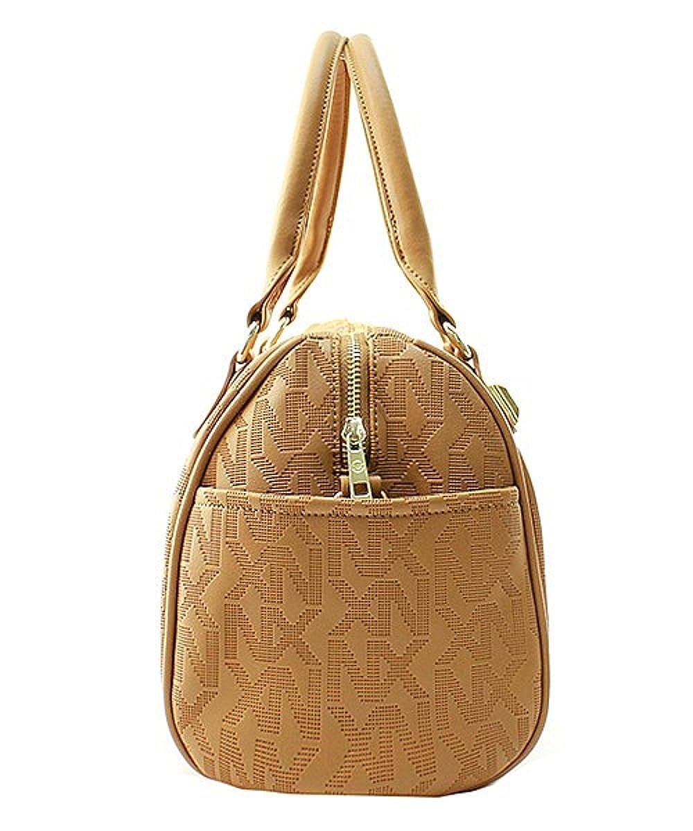 NX Boston Style Satchel Shoulder Bag Black