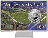 NFL Baltimore Ravens Silver Coin Card