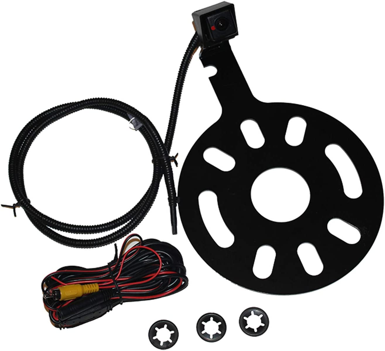 with Moving Parking Guide Lines Crux CCH-01M Jeep Wrangler Camera Spare Tire Mount