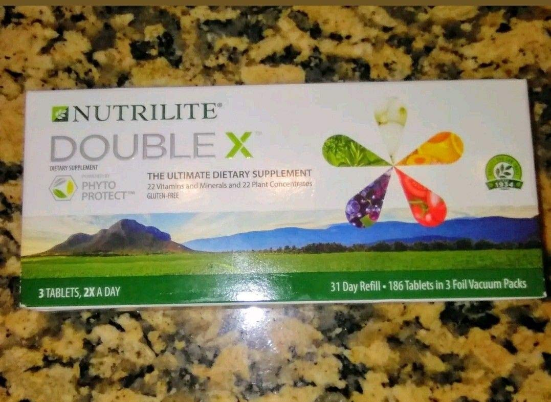 NUTRILITE DOUBLE X Vitamin Mineral Phytonutrient – 31-Day Refill
