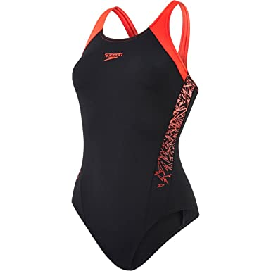 41543b2d8ab4f Speedo Women Boom Splice Muscleback Swimsuit: Amazon.es: Deportes y aire  libre