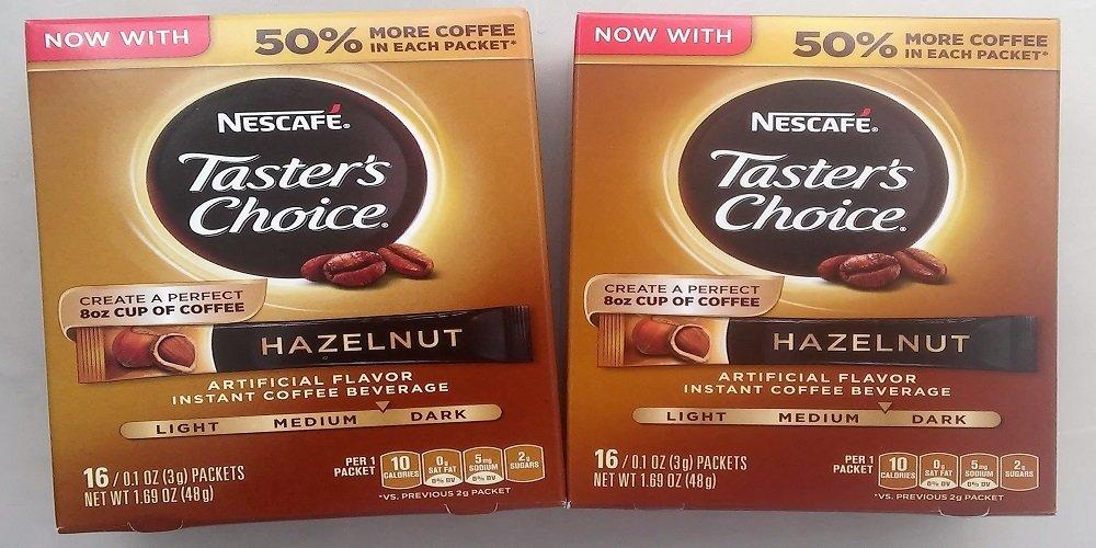 Nescafe Taster's Choice Instant Coffee Hazlenut