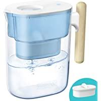 Waterdrop Chubby NSF Certificado Jarra de Filtro de Agua de Larga Duración de 3.5L, Diseñada con un Sistema de…