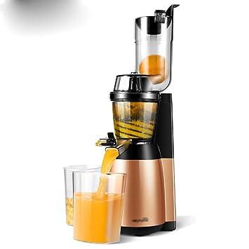 MX Máquina de zumo de gran calibre, fácil de limpiar, exprimidor lento, exprimidor