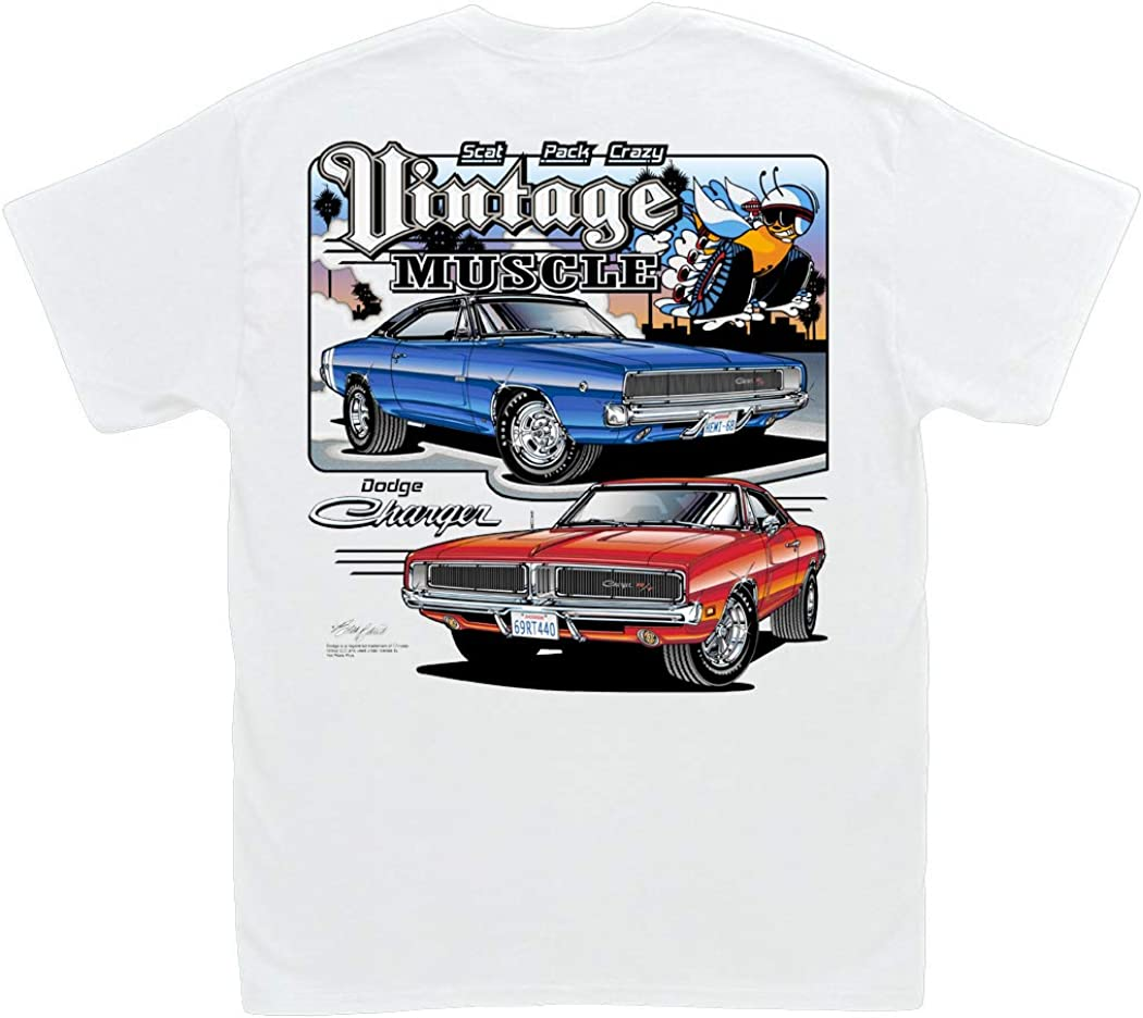 Muscle Car Madness 69 Mustang Vintage Muscle Car Shirt