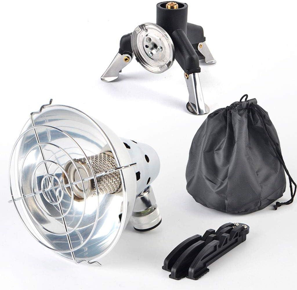 Mini Calefactor Radiante de Propano/Butano Portátil, Estufa ...