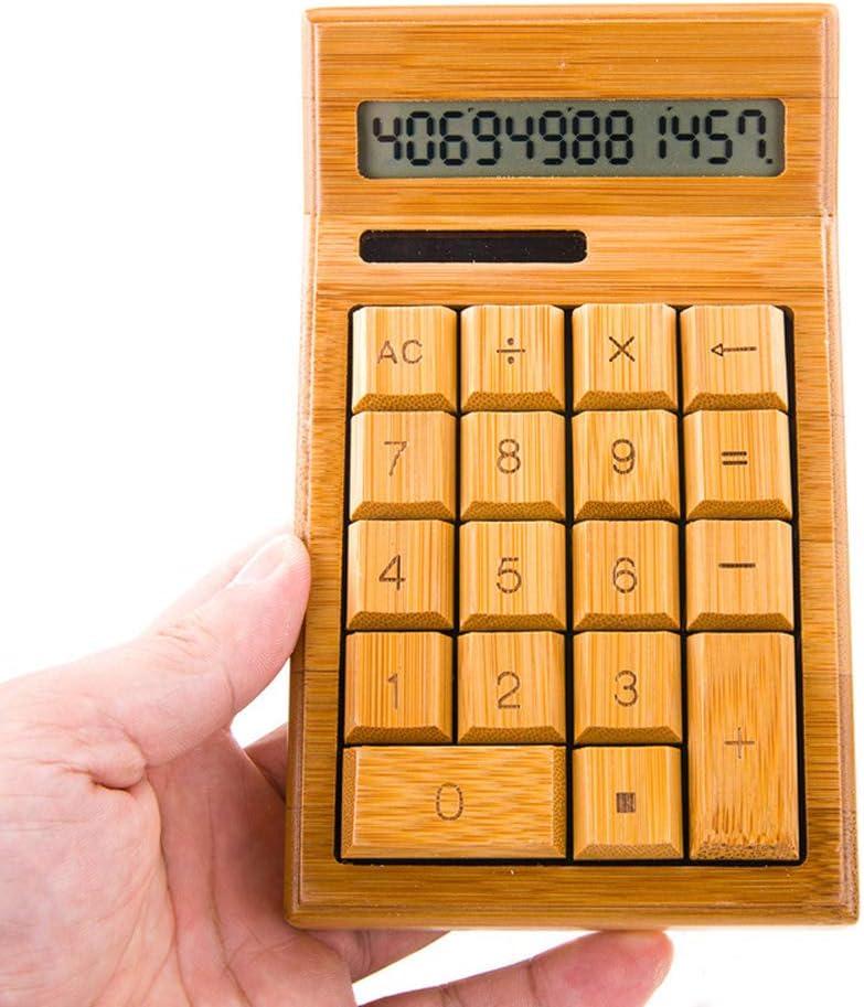 電子計算機 ホームオフィスバンクの竹電卓ミニ卓上電卓 学校 小売店 オフィスなど適用