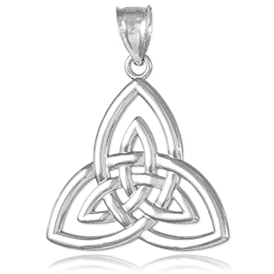 Buy silver celtic triquetra pendant online at low prices in india silver celtic triquetra pendant mozeypictures Image collections