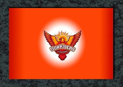 tamatina wall poster sunrisers hyderabad logo ipl team hd