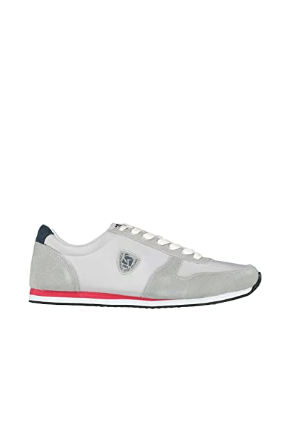 Redskins Baskets  Disco ref_cle37080-gris Gris - Chaussures Baskets basses