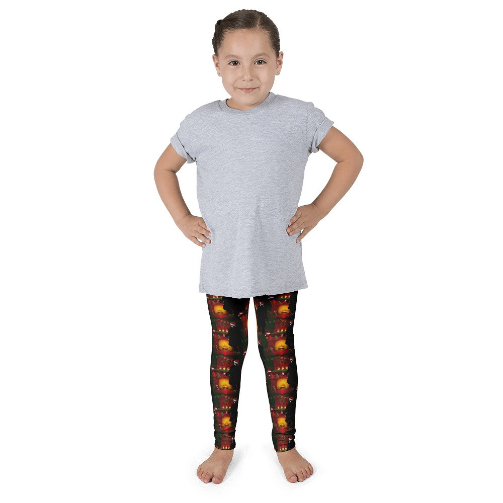 Gossip Rag Christmas Nosferatu Kids Leggings