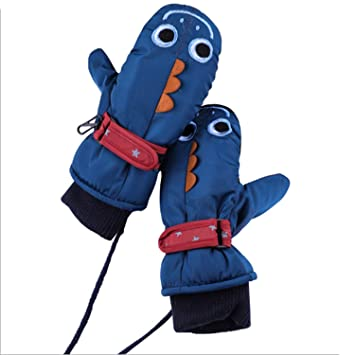 Children Winter Gloves RUNATUR Kids Ski Mittens Waterproof /& Windproof