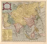 Map: 1700 A of Asia : with its principal divisions Longitude East from Ferro I|Asia