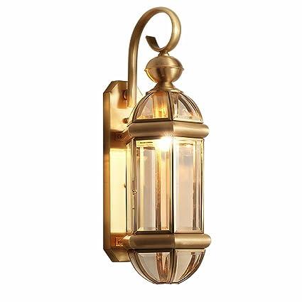 buy popular f50d4 0b6ee Amazon.com: Wall Lamps Indoor Copper Wall Light Outdoor ...