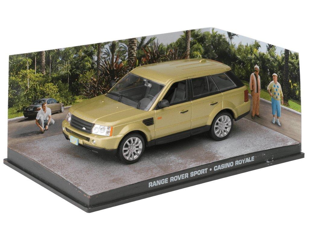 007 James Bond Car Collection #51 Range Rover Sport Casino Royale