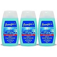 Jennifer's Face Wash Aqua 3 X 100 ml, Pack of 1