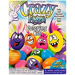 R.J. Rabbit Easter Unlimited Crazy Eggs Coloring Kit